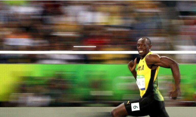 Ο Γιουσέιν Μπολτ είναι ο πιο γρήγορος άνθρωπος στον κόσμο (vids)