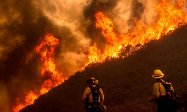 Καλιφόρνια: Χάος από τον καύσωνα και τις πυρκαγιές – Χιλιάδες σπίτια χωρίς ηλεκτρικό ρεύμα! (vid)