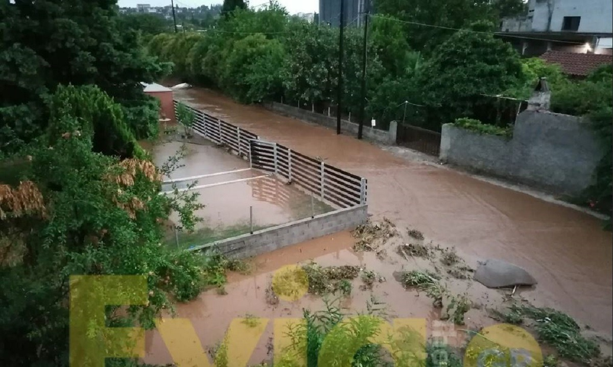 «Θάλεια»: Σοβαρά προβλήματα στην Εύβοια – Εγκλωβισμένοι πολίτες, πληροφορίες για νεκρή 86χρονη. Η σφοδρή κακοκαιρία που πλήττει την Εύβοια, με βροχές, καταιγίδες και πολλούς κεραυνούς τις τελευταίες ώρες έχει δημιουργήσει τεράστια προβλήματα σε πολλές αρκετές περιοχές του νομού και ειδικά στην ευρύτερη περιοχή της Χαλκίδας.