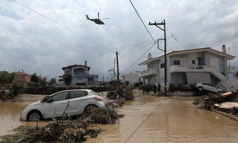 Εύβοια – Πλημμύρες: Φωτογραφίες και βίντεο από τις καταστροφές που σοκάρουν (vids+pics)