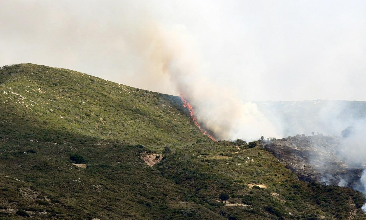 Πολιτική προστασία για 26/8: Υψηλός κίνδυνος πυρκαγιάς