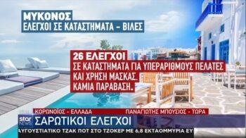 Κορονοϊός - Ελλάδα: Σαρωτικοί έλεγχοι για συνωστισμό και άλλες παραβάσεις (vid)