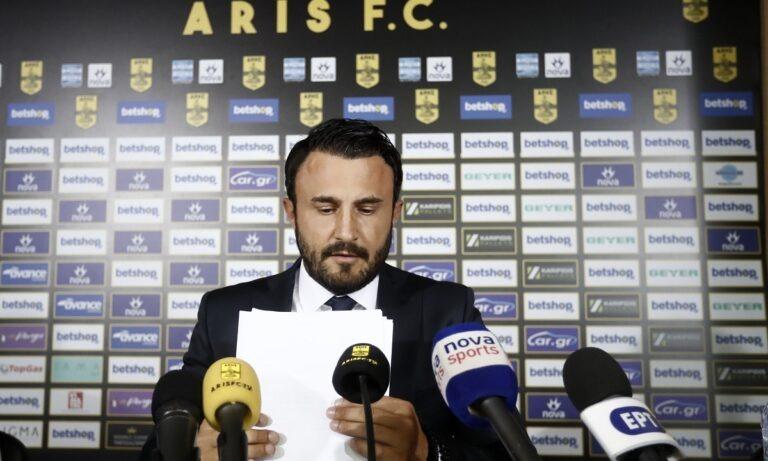 Καρυπίδης για ΠΑΟΚ: «Εμείς με τον ΠΑΟΚ θέλουμε να παίζουμε, όχι με άλλες ομάδες»