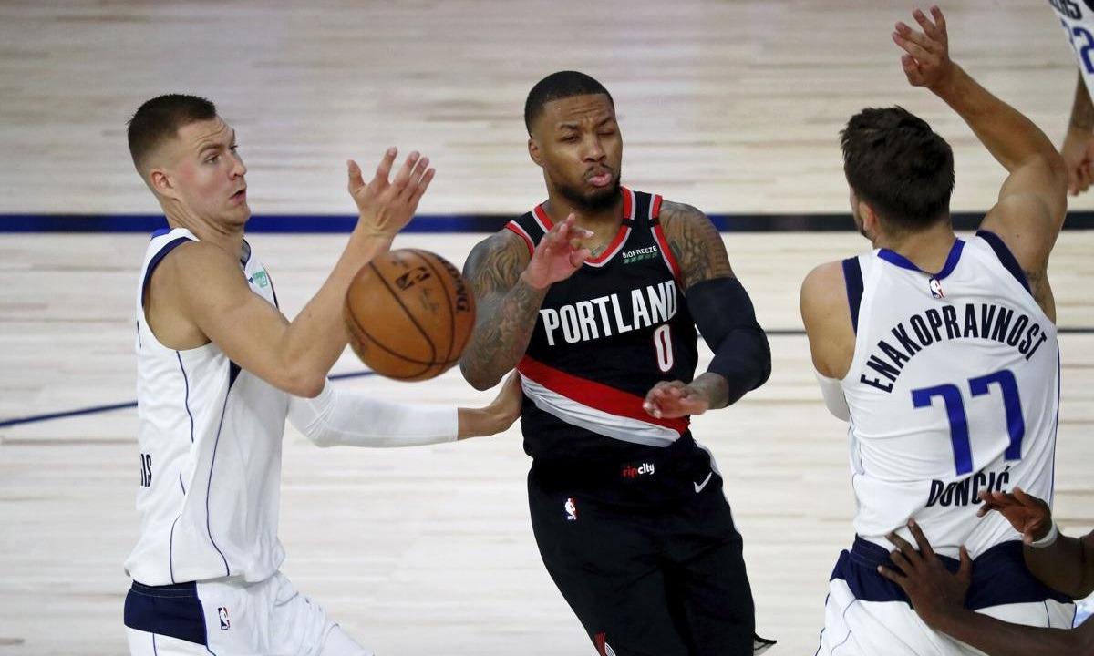 NBA: Ο Λίλαρντ σταμάτησε στους 61 πόντους, στα πλέι οφ οι Μπλέιζερς -Στο 7-0 οι Σανς (vids). Ο Ντέιμιαν Λίλαρντ το έχει πάρει προσωπικά.