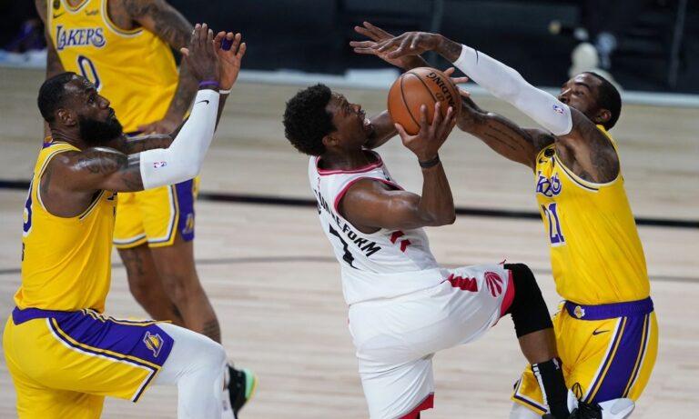 NBA: Ο Γουόρεν έκαψε τους Σίξερς με 53 πόντους! -Νίκη των Ράπτορς επί των Λέικερς (vids)