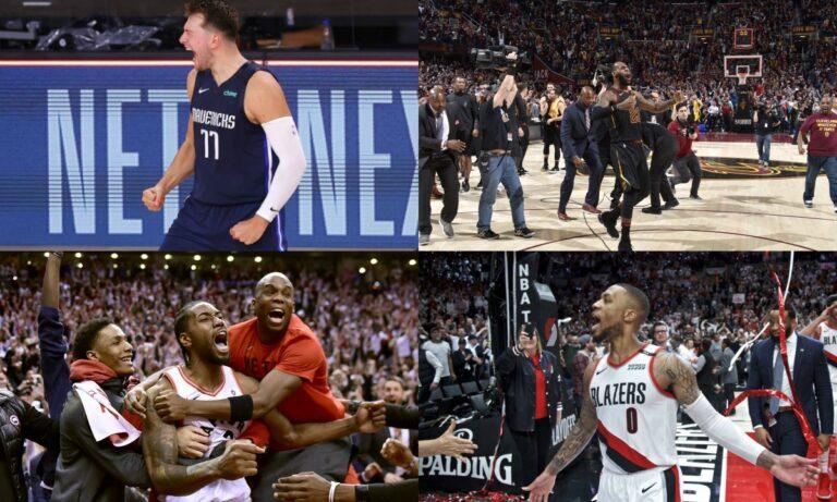 NBA PlayOffs: Τα buzzer beater με σαραντάρες!  (Vid)