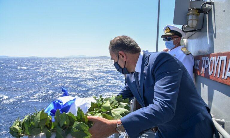 Παναγιωτόπουλος προς κυβερνήτη «Λήμνου»: «Είσαι μάγκας» (vid)