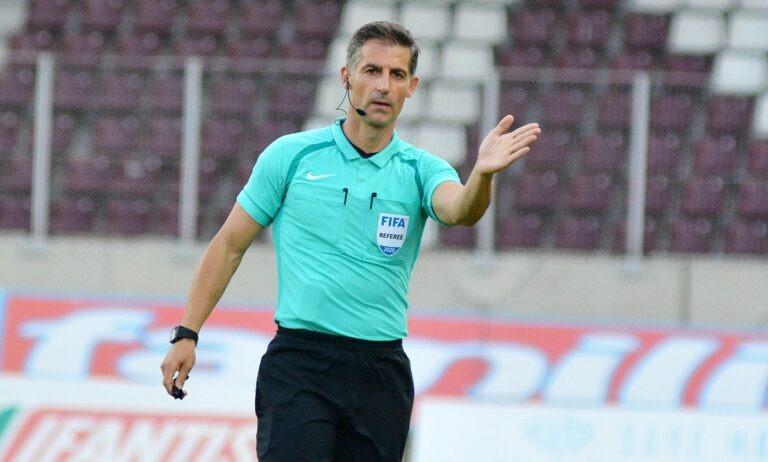 Europa League: Τέταρτος διαιτητής στον τελικό ο Σιδηρόπουλος