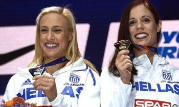 10 Αυγούστου 2018: Στεφανίδη και Κυριακοπούλου κάνουν το 1-2 στη κορυφή της Ευρώπης (vids)