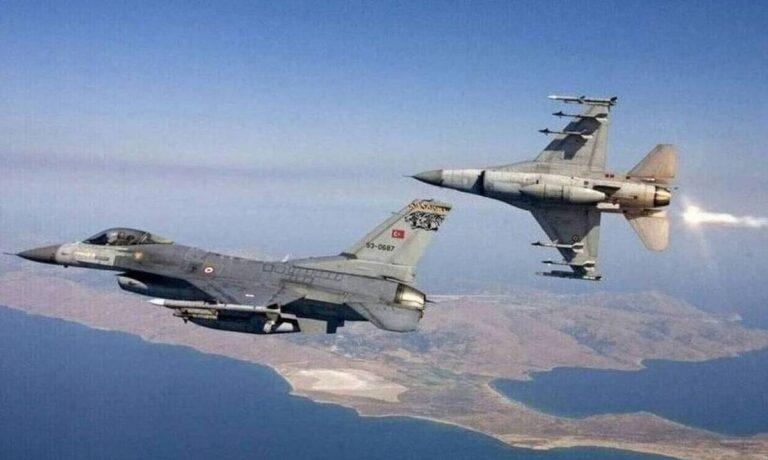 Νέες προκλήσεις: Μπαράζ παραβιάσεων από τουρκικά αεροσκάφη στο Αιγαίο