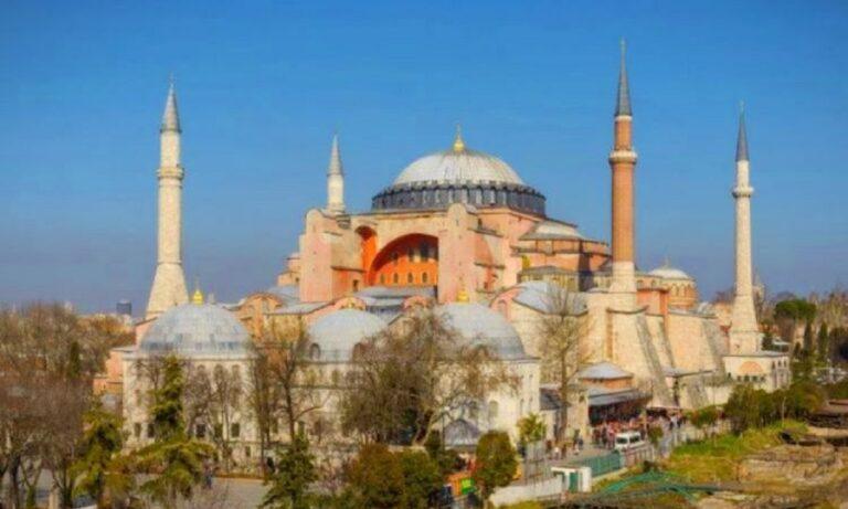 Τουρκία: Πέθανε από καρδιά ο μουεζίνης της Αγιάς Σοφιάς!