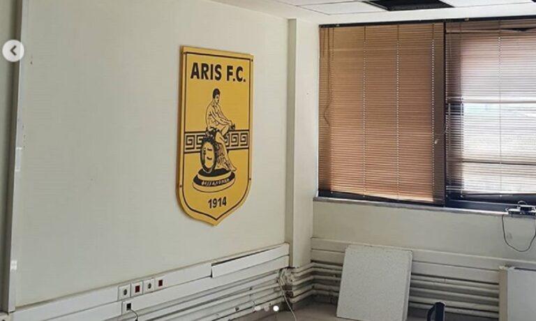 Προχωρούν οι εργασίες στα γραφεία της ΠΑΕ Άρης (pics)
