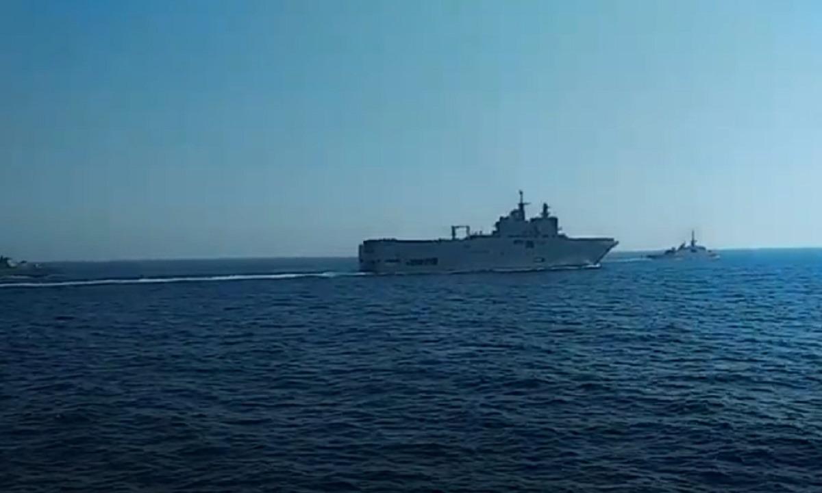 Βγήκαν Έλληνες και Γάλλοι στην Aνατολική Μεσόγειο (video). Βγήκαν Έλληνες και Γάλλοι για άσκηση στην Ανατολική Μεσόγειο, με...