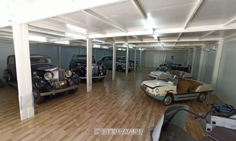«Ζωντανεύουν» και πάλι τα πολυτελή αυτοκίνητα της τέως βασιλικής οικογένειας (vids+pic)