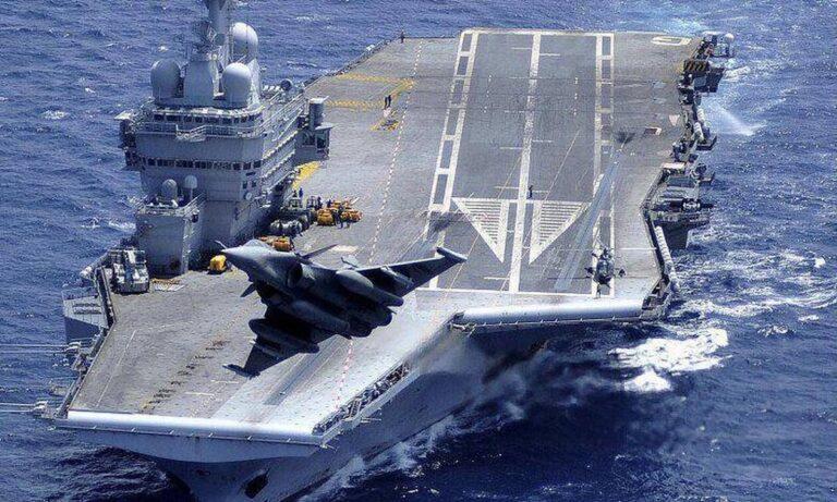 Oruc Reis: Τα πήρε η Γαλλία με την Τουρκία και στέλνει αεροπλανοφόρο