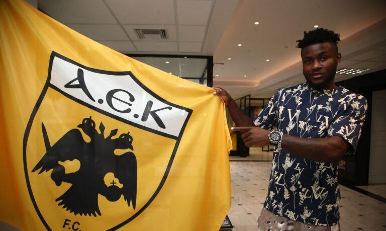 ΑΕΚ: Με το «12» ο Ενομπακάρε -Χατζηεμμανουήλ και Γκίνης στην προετοιμασία