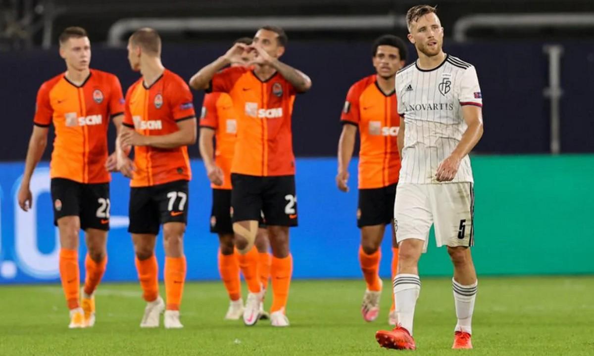 UEFA Ranking: Δούλεψε για την Ελλάδα η Σαχτάρ (vid). Απέκλεισε με το ευρύ 4-1 τη Βασιλεία