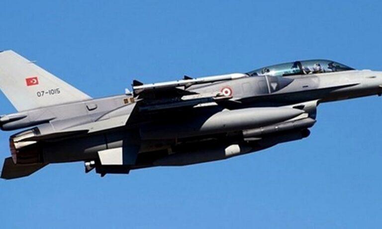 Τουρκικό F-16 κόντεψε να συντριβεί στη Χίο!