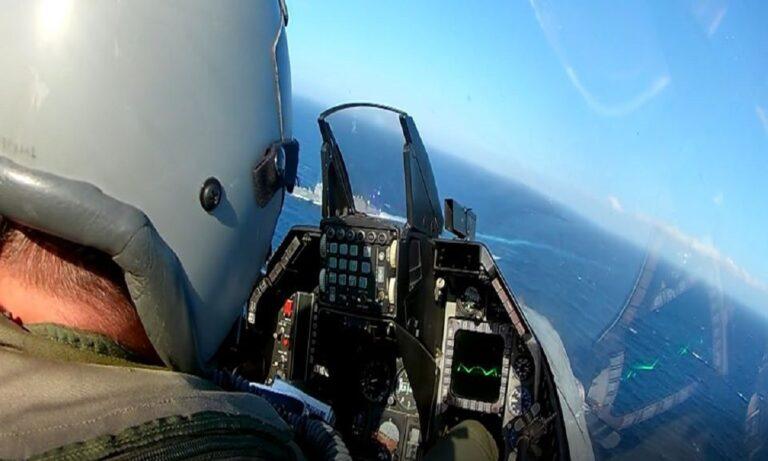 Oruc Reis: Σοκ για τους Τούρκους – Η φρεγάτα Gokceada στο σκοπευτικό ελληνικών F16
