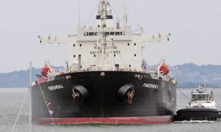 Φωτιά σε ελληνικό πλοίο στην Αραβική Θάλασσα!