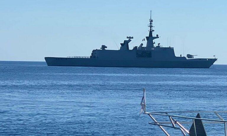 Ηχηρή γαλλική παρουσία: Η φρεγάτα La Fayette περιπολεί στην Κύπρο!
