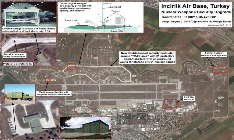 Oruc Reis: Ψάχνουν τρόπο οι ΗΠΑ να βγάλουν κρυφά τα πυρηνικά τους έξω από την Τουρκία