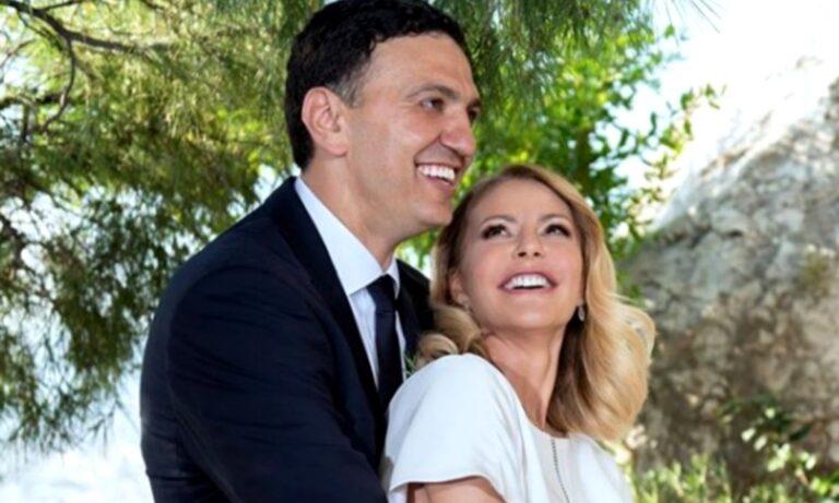 Βασίλης Κικίλιας: Ανακοίνωσε πως είναι έγκυος η Τζένη Μπαλατσινού