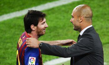 Στη Βαρκελώνη ο Γκουαρντιόλα για να μιλήσει με τον Μέσι!