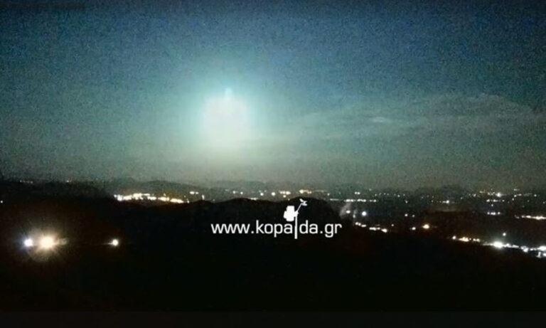 Βοιωτία: Έπεσε μετεωρίτης! (vid)