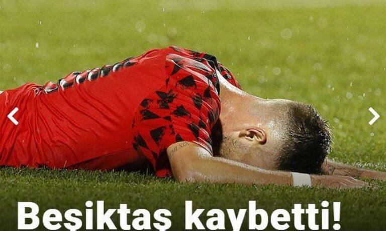 «Καταστροφή στη Θεσσαλονίκη!» – Τα τουρκικά ΜΜΕ για το ΠΑΟΚ – Μπεσίκτας (pics)