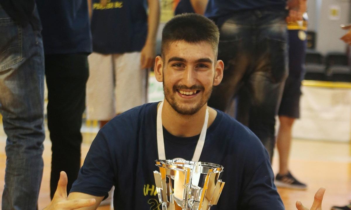 Πανελλήνιο Εφήβων: MVP ο Βησσαρίου