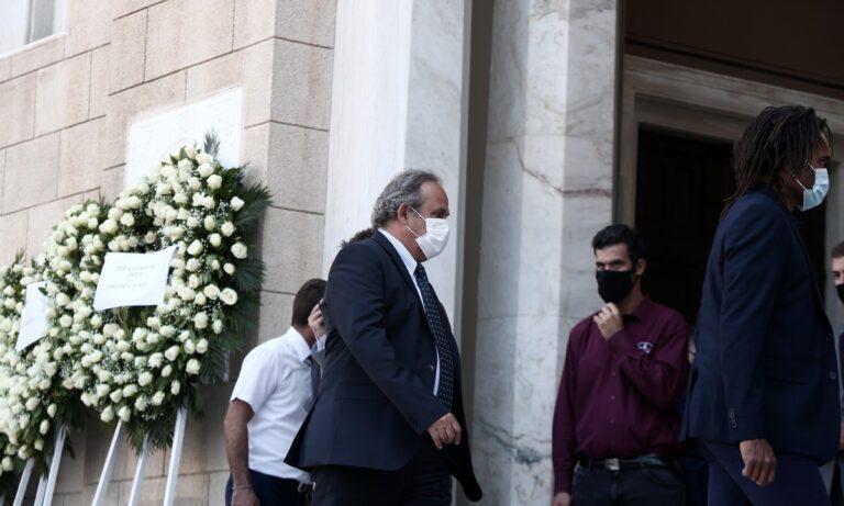 Με Μισέλ Πλατινί το τελευταίο «αντίο» του Σάββα Θεοδωρίδη (pics)