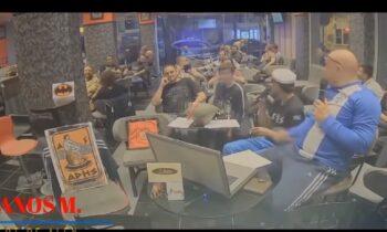 Ραπτόπουλος - Βίντεο έπος: Όλες οι μπούκες της αστυνομίας στην εκπομπή του (vid)