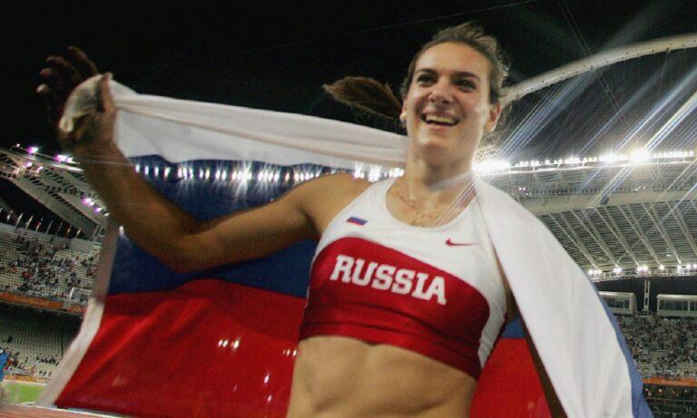 Γιέλενα Ισινμπάγιεβα: Το παγκόσμιο ρεκόρ της «τσαρίνας» των αιθέρων στην Αθήνα! (vid)