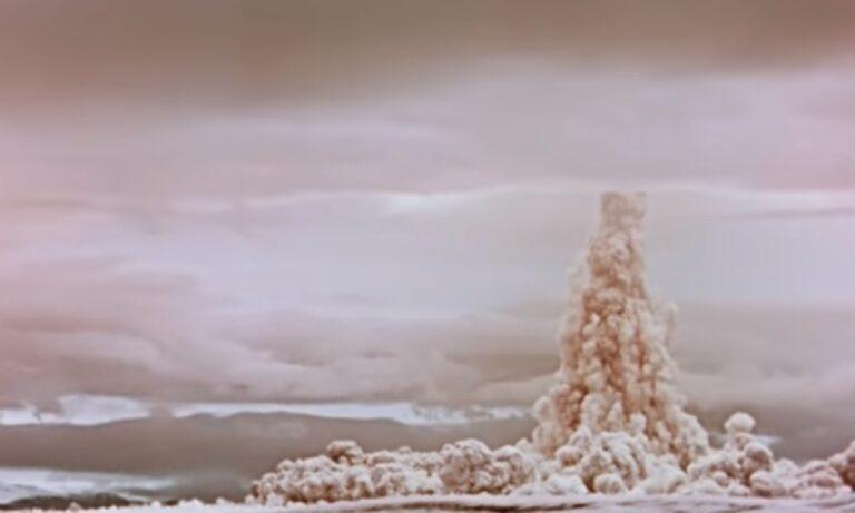 Ρωσία: Η έκρηξη της μεγαλύτερης βόμβας υδρογόνου στον κόσμο (vid)
