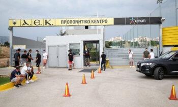 ΑΕΚ: Και δεύτερο τεστ κορωνοϊού στα Σπάτα