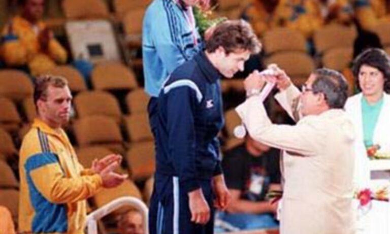 Δημήτρης Θανόπουλος: Το αργυρό μετάλλιο στο Λος Άντζελες
