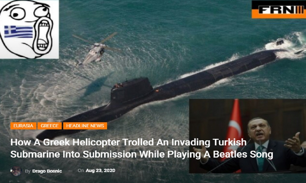 Oruc Reis: Toν γύρο του κόσμου κάνει το ρεζιλίκι του τουρκικού υποβρυχίου που παραδόθηκε μετά μουσικής