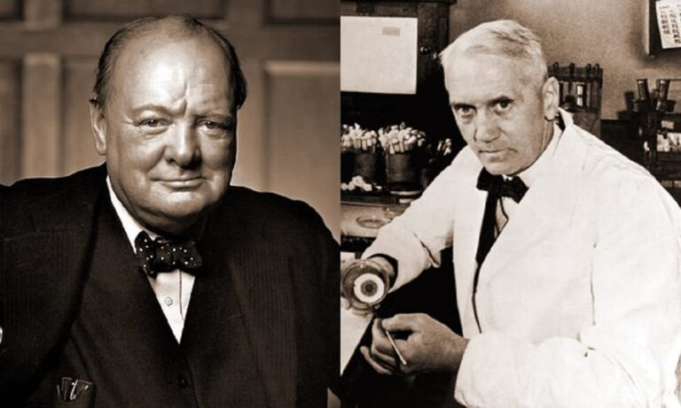 Ψεύτικη η ιστορία με τον Αλεξάντερ Φλέμινγκ, τον Ουίνστον Τσώρτσιλ και τον Χίτλερ