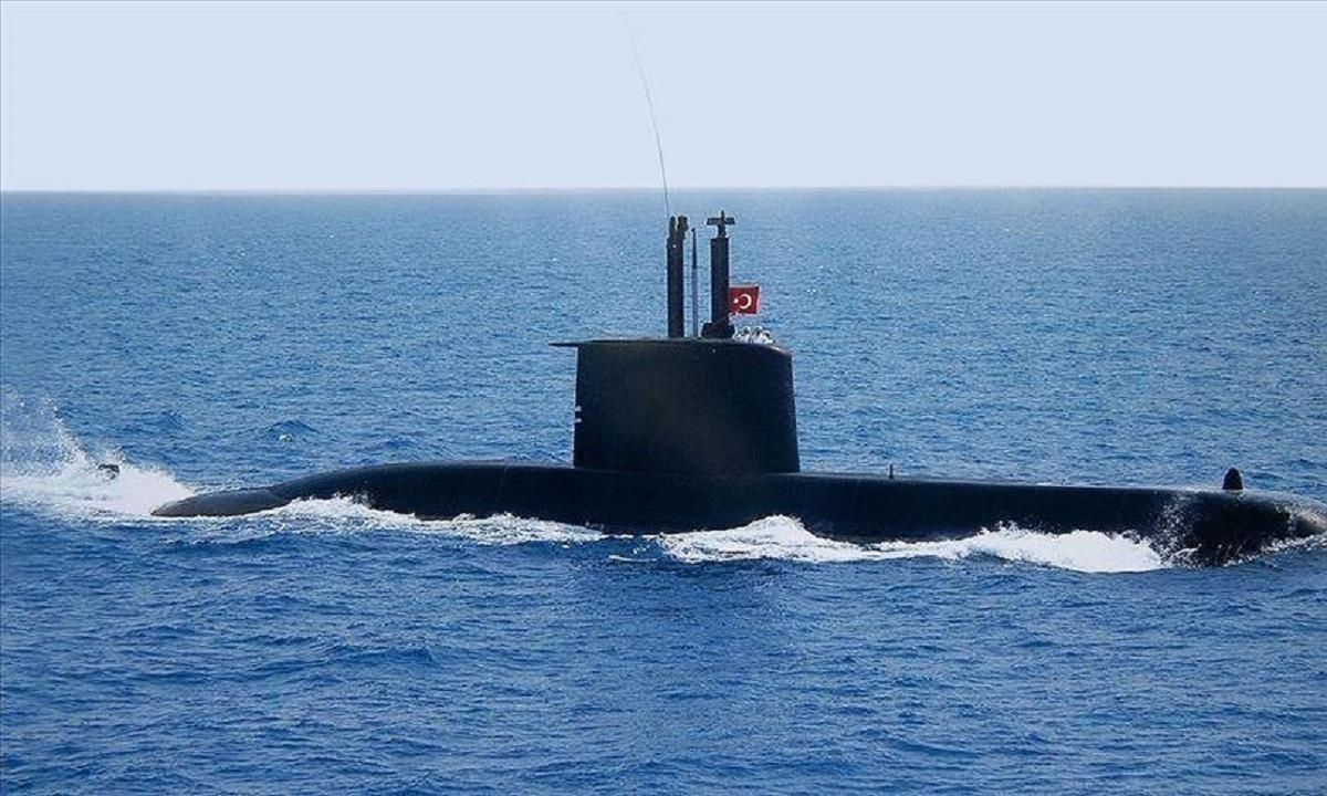Ελλάδα – Τουρκία: Τουρκικό υποβρύχιο έφτασε στο Σούνιο!