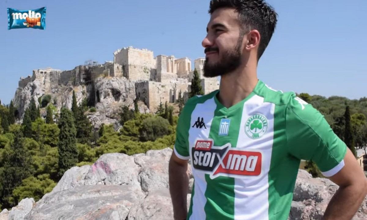 Λούκας Βιγιαφάνιες: Ακρόπολη, Αθήνα, Παναθηναϊκός! – Ξανά «πράσινος» για δύο χρόνια (vid). Δείτε το video της ομάδας