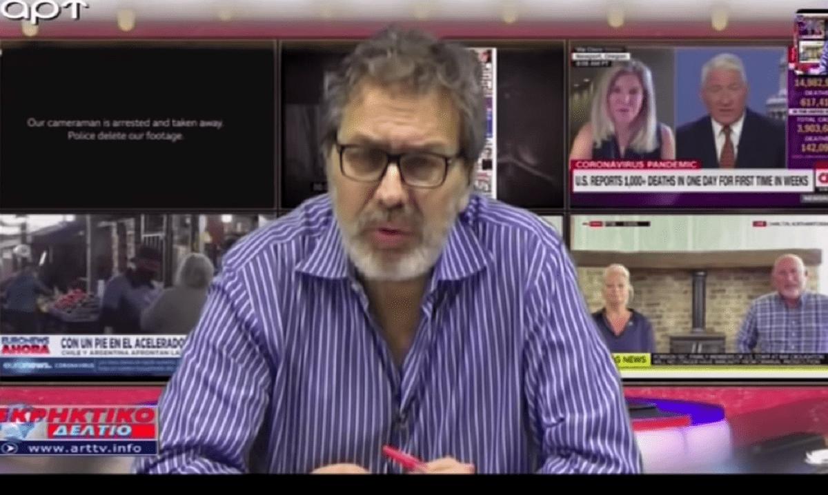 Στέφανος Χίος: Η πρώτη τηλεοπτική εμφάνιση μετά την απόπειρα δολοφονίας – Έριξε «βόμβες». Ο δημοσιογράφος Στέφανος Χίος είναι καλά, πια, στην υγεία του και μάλιστα πραγματοποίησε την πρωτη τηλεοπτική του εμφάνιση.