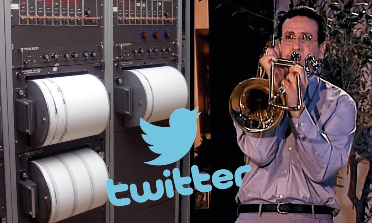 Σεισμός στην Αττική: Γλέντι στο Twitter! «Μητσοτάκη κάνε διάλειμμα!», «Βιάστηκε το 112…», «το τρομπόνι μου»!