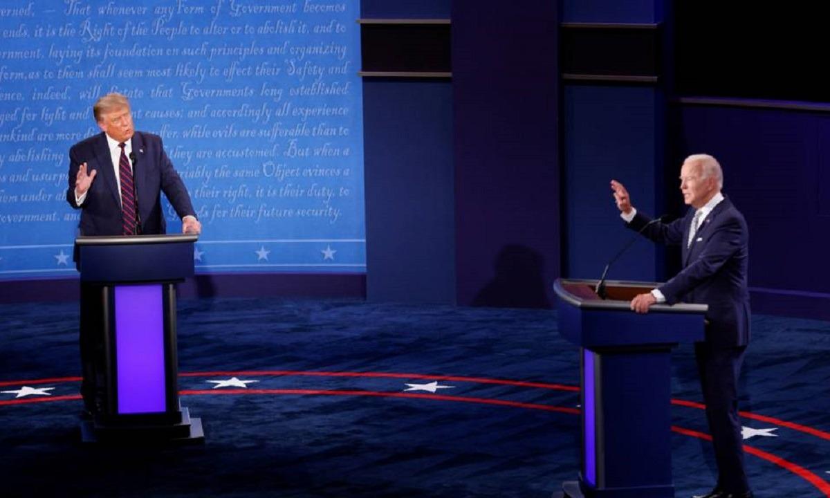 Ξέφυγαν στο Debate Τραμπ – Μπάιντεν: Τραμπ: «Είσαι χαζός» – «Είσαι καραγκιόζης!» (vid)