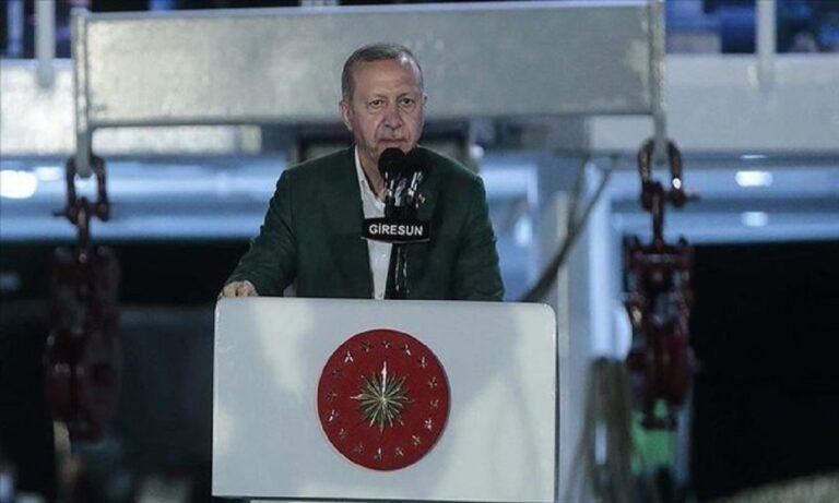 Ερντογάν: Μέτρησε λάθος ακόμα και την τουρκική ακτογραμμή