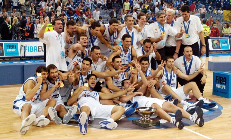 Εθνική Ελλάδας μπάσκετ: Σαν σήμερα (25/9) το χρυσό στο Ερωμπάσκετ του Βελιγραδίου