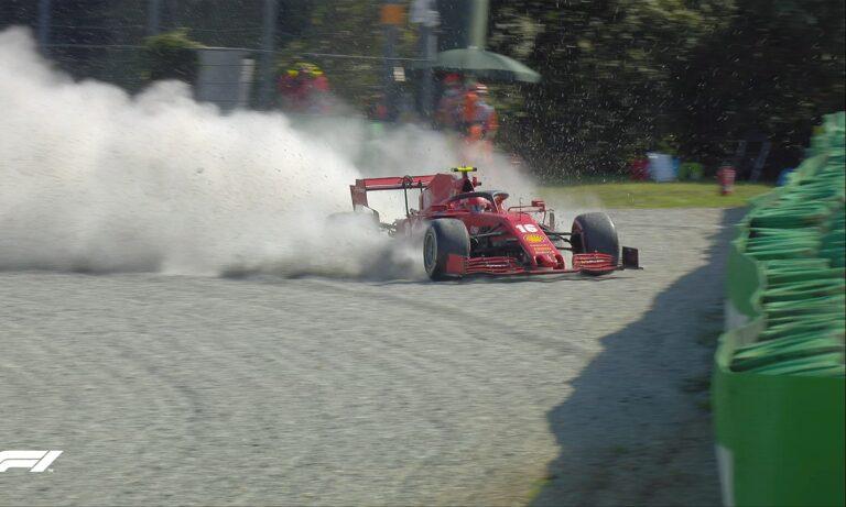 F1: Το τρομακτικό ατύχημα του Λεκλέρ που σταμάτησε τον αγώνα