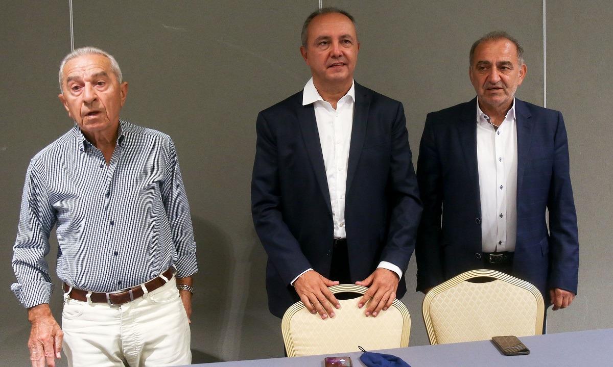 Ζαντόπουλος: «Όλοι μαζί ώστε ο Ηρακλής να επανέλθει άμεσα στην Super League»