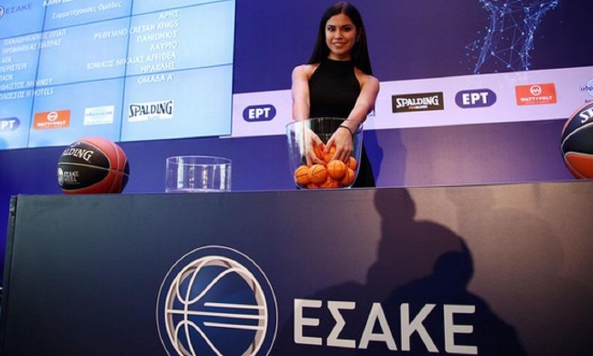 Live Streaming: Η κλήρωση της Basket League