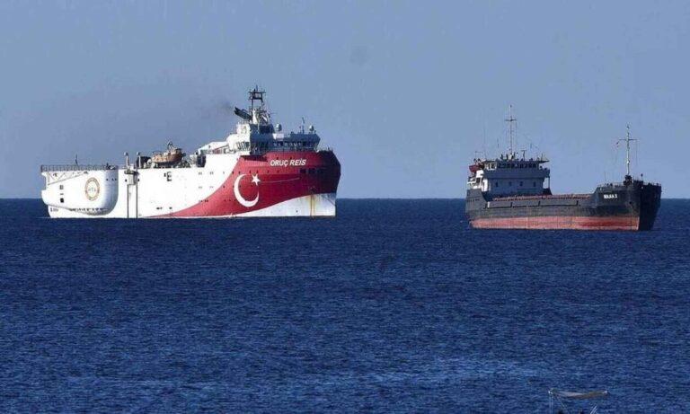 Oruc Reis – Τουρκία: Νέα Navtex για έρευνες νότια του Καστελλόριζου